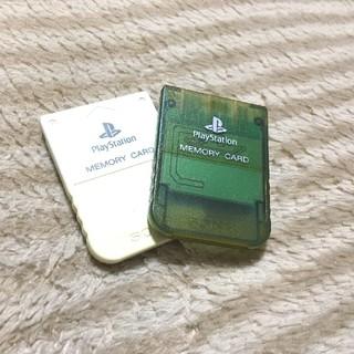 プレイステーション(PlayStation)のプレイステーション メモリーカード(家庭用ゲーム機本体)