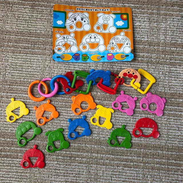 アンパンマン(アンパンマン)のアンパンマン☆知育玩具☆はじめてのひもとおし キッズ/ベビー/マタニティのおもちゃ(知育玩具)の商品写真