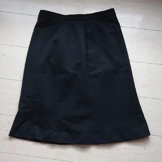 事務服 スカート(黒 )  13号 アンジョア