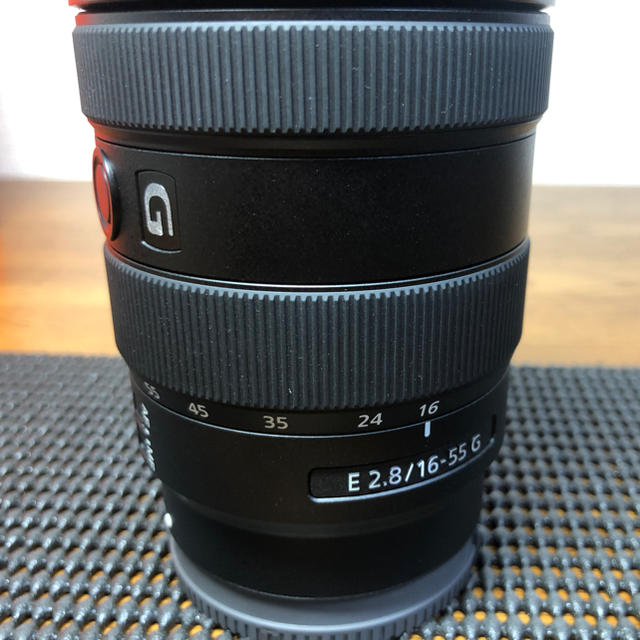 SONY(ソニー)の【極美品】SONY E16-55 F2.8 スマホ/家電/カメラのカメラ(レンズ(ズーム))の商品写真
