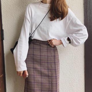 ジーユー(GU)の🌷新品タグ付き ロングスリーブT 黒(Tシャツ(長袖/七分))