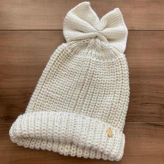 プティマイン(petit main)のベビー帽子 ニット帽 タグ付き プティマイン(帽子)
