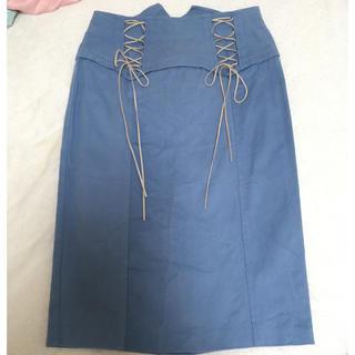 イートミー(EATME)のEATME ガータースカート(ひざ丈スカート)