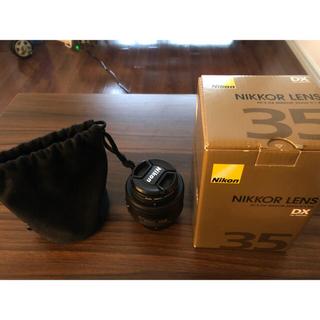 Nikon - Nikon AF-S DX NIKKOR 35mm F/1.8G【単焦点レンズ】