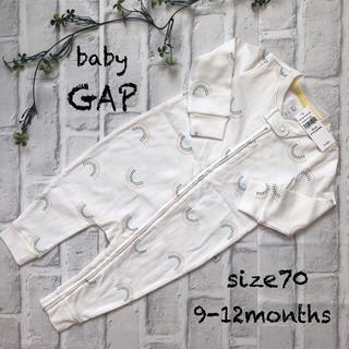 babyGAP - 〓baby  GAP〓新品 ロンパース 70㎝  虹