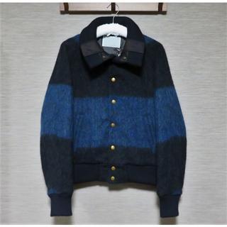 カラー(kolor)の定価10万 新品 kolor ウール モヘヤ ジャケット 1 メンズ 日本製(ブルゾン)
