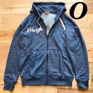 アスレタ(ATHLETA)のATHLETA アスレタ杢スウェットジップパーカー03312 OサイズXL LL(ウェア)