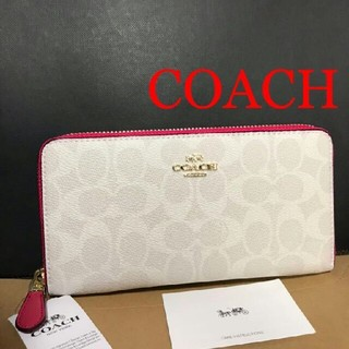 COACH - ◇【新品 未使用品】COACH 長財布 シグネチャー F814