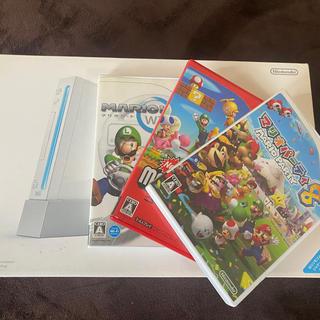 Wii - wii本体★マリオカート マリオパーティ 8  スーパーマリオブラザーズ