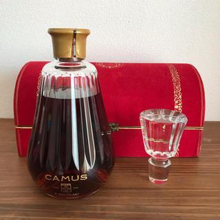バカラ(Baccarat)の未開封 カミュ ブランデー バカラ カラフェ CAMUS Baccarat 古酒(ブランデー)