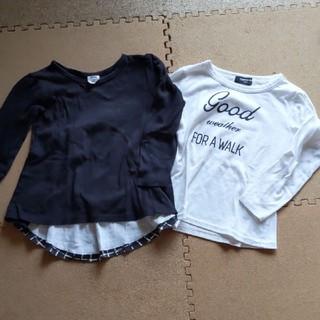 コムサイズム(COMME CA ISM)の長袖Tシャツ 100-110(Tシャツ/カットソー)
