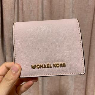 マイケルコース(Michael Kors)のMICHAEL KORS 二つ折り財布【値下げ】(折り財布)