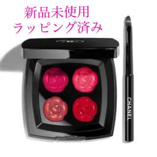 シャネル(CHANEL)のシャネル カメリアドー リップパレット 新品未使用(口紅)