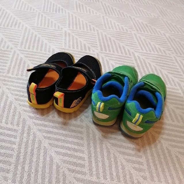 New Balance(ニューバランス)のニューバランス 17.0 スニーカー サンダル キッズ/ベビー/マタニティのキッズ靴/シューズ(15cm~)(スニーカー)の商品写真