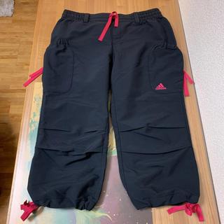 adidas - アディダス CLIMALITE レディース ハーフパンツ 七分丈パンツ Lサイズ