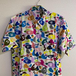 A BATHING APE - a132 マルチマイロ迷彩柄 半袖シャツ ベビーマイロ レア