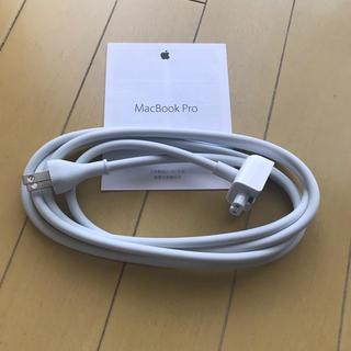 マック(Mac (Apple))の【新品】MacBook  Pro AC電源コード 純正(PC周辺機器)