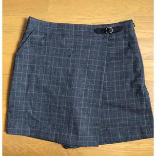 クミキョク(kumikyoku(組曲))の飾りベルト付き ラップキュロット(ミニ)(ミニスカート)