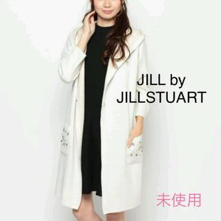 ジルバイジルスチュアート(JILL by JILLSTUART)のジルバイ ビジューコーディガン 未使用(カーディガン)