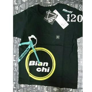 UNIQLO - 【新品 未使用】120 サイズ Tシャツ ☆ Bianchi  自転車  UT