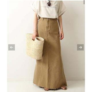 Plage - plage healthydenimヘルシーデニム LONG SLIT スカート