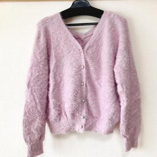 ヴィス(ViS)の美品♡ビス♡2wayカーディガン⇄もこもこセーター(カーディガン)