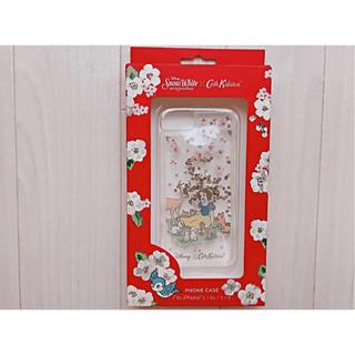 キャスキッドソン(Cath Kidston)の【新品未使用】ディズニー iPhone 6/6S/7/8ケース フォレストシーン(iPhoneケース)