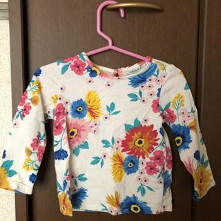 エイチアンドエム(H&M)のH&M 花柄Tシャツ(Tシャツ)