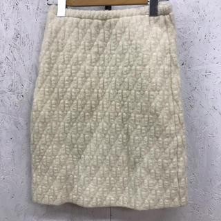 フェンディ(FENDI)のFENDI magria ウールスカート ニット オールド(ひざ丈スカート)