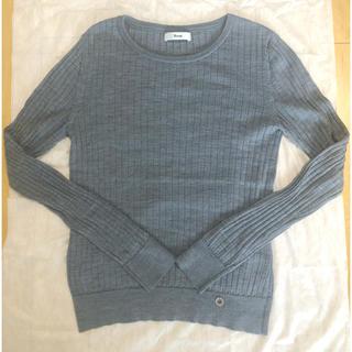 ルネ(René)のRene ルネ ウール ニット グレー 36 M(ニット/セーター)