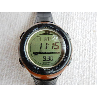 スント(SUUNTO)のSUUNTO/スント VECTOR/ベクター ブラウン 中古稼働品(腕時計(デジタル))