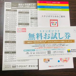 Kitamura - スタジオマリオ⭐︎無料お試し券⭐︎クーポン