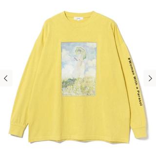 ビームス(BEAMS)のモネ プリントTシャツ(Tシャツ/カットソー(七分/長袖))
