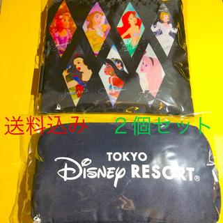 ディズニー(Disney)の【入手困難・匿名配送!】ディズニー★エコバッグ2個セット(ノベルティグッズ)