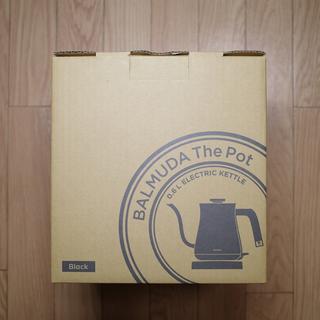 バルミューダ(BALMUDA)の【訳あり新品】BALMUDA The Pot(BLACK)(電気ポット)