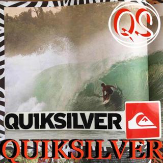 クイックシルバー(QUIKSILVER)のQUIKSILVERクイックUS限定 ロゴボックス icon ステッカー ラス2(サーフィン)
