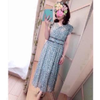tocco - 新品♡tocco closet  2WAY ミント シフォン マキシワンピ