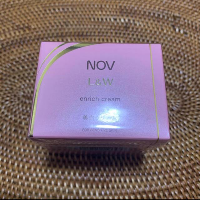 NOV(ノブ)のノブ エンリッチクリーム コスメ/美容のスキンケア/基礎化粧品(フェイスクリーム)の商品写真