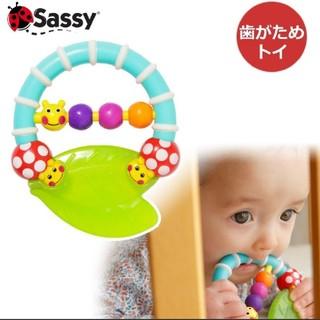 Sassy - 《新品未使用》サッシーあおむし歯固め
