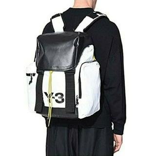 ワイスリー(Y-3)の新品 紙タグ値札付 Y-3 MOBILITY BAG ホワイト[DQ0648](バッグパック/リュック)