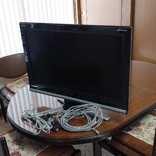 アクオス(AQUOS)のシャープ AQUOS 32V LC-32D10-B 液晶テレビ(テレビ)