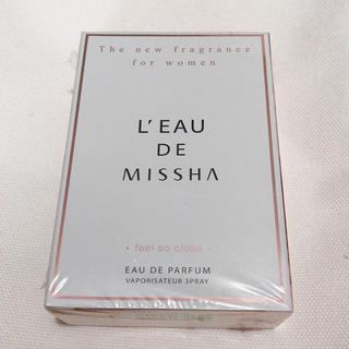 ミシャ(MISSHA)の【新品未開封品】MISSHA 香水 東方神起 チャンミン  30ml(香水(女性用))