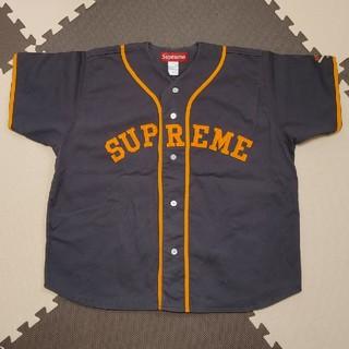 Supreme - supreme シュプリーム ベースボールシャツ XL