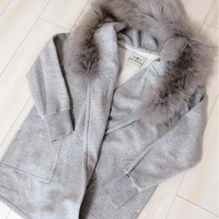 GRACE CONTINENTAL - グレースコンチネンタル 起毛ファーコート