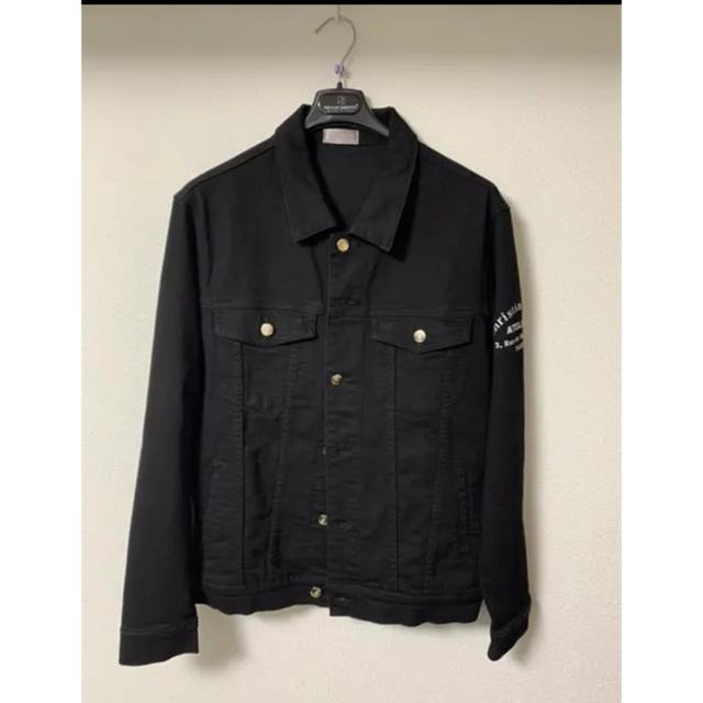dude9系 dior homme デニムジャケット メンズのジャケット/アウター(Gジャン/デニムジャケット)の商品写真