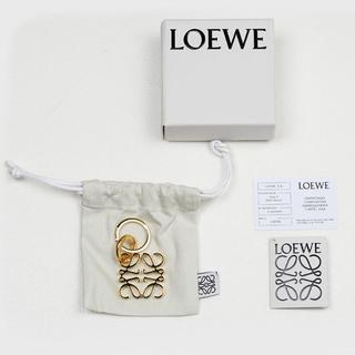 LOEWE - LOEWE ロエベ ANAGRAM ゴールドキーホルダー