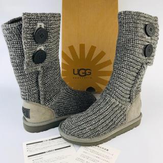 アグ(UGG)の新品未使用⭐︎UGG★2way ニットブーツ キッズ(18㎝)(ブーツ)