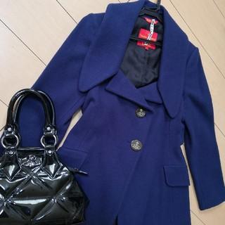 ヴィヴィアンウエストウッド(Vivienne Westwood)のヴィヴィアンウエストウッド コート ピーコート ワンピース 格安にて(ロングコート)