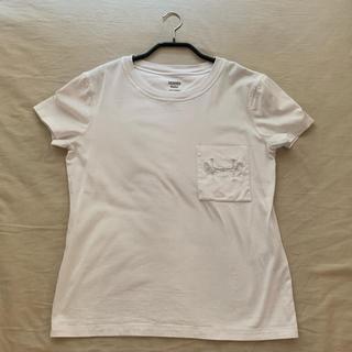 エルメス(Hermes)の【HERMES】Tシャツ (ホワイト36)(Tシャツ(半袖/袖なし))