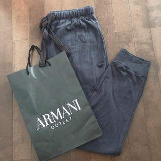 Emporio Armani - 未使用 アルマーニ ジョガースウェットパンツ